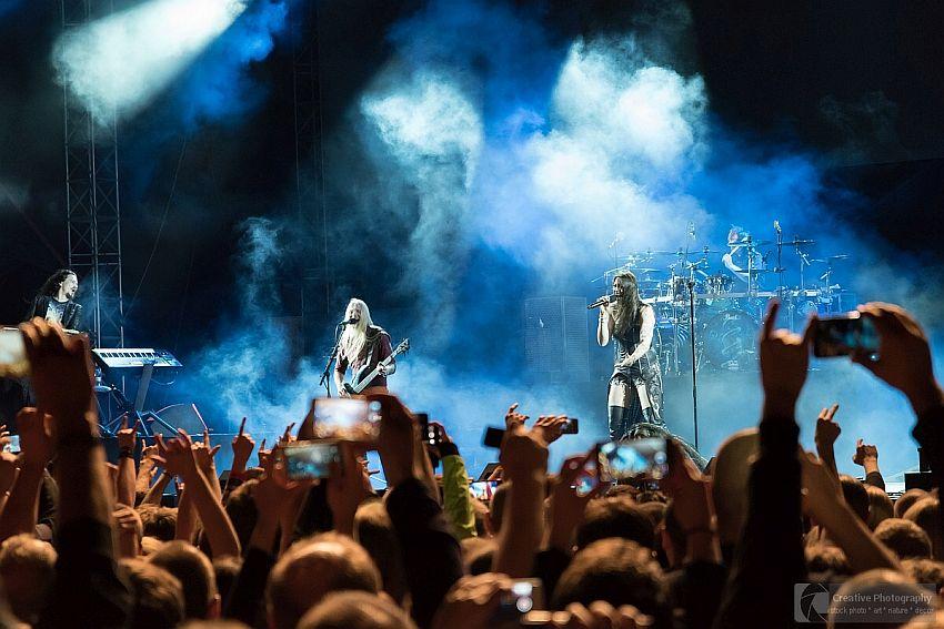 Nightwish concert in Kosice