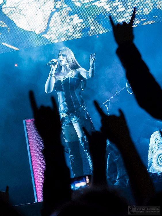 Nightwish concert in Kosice with Floor Jansen