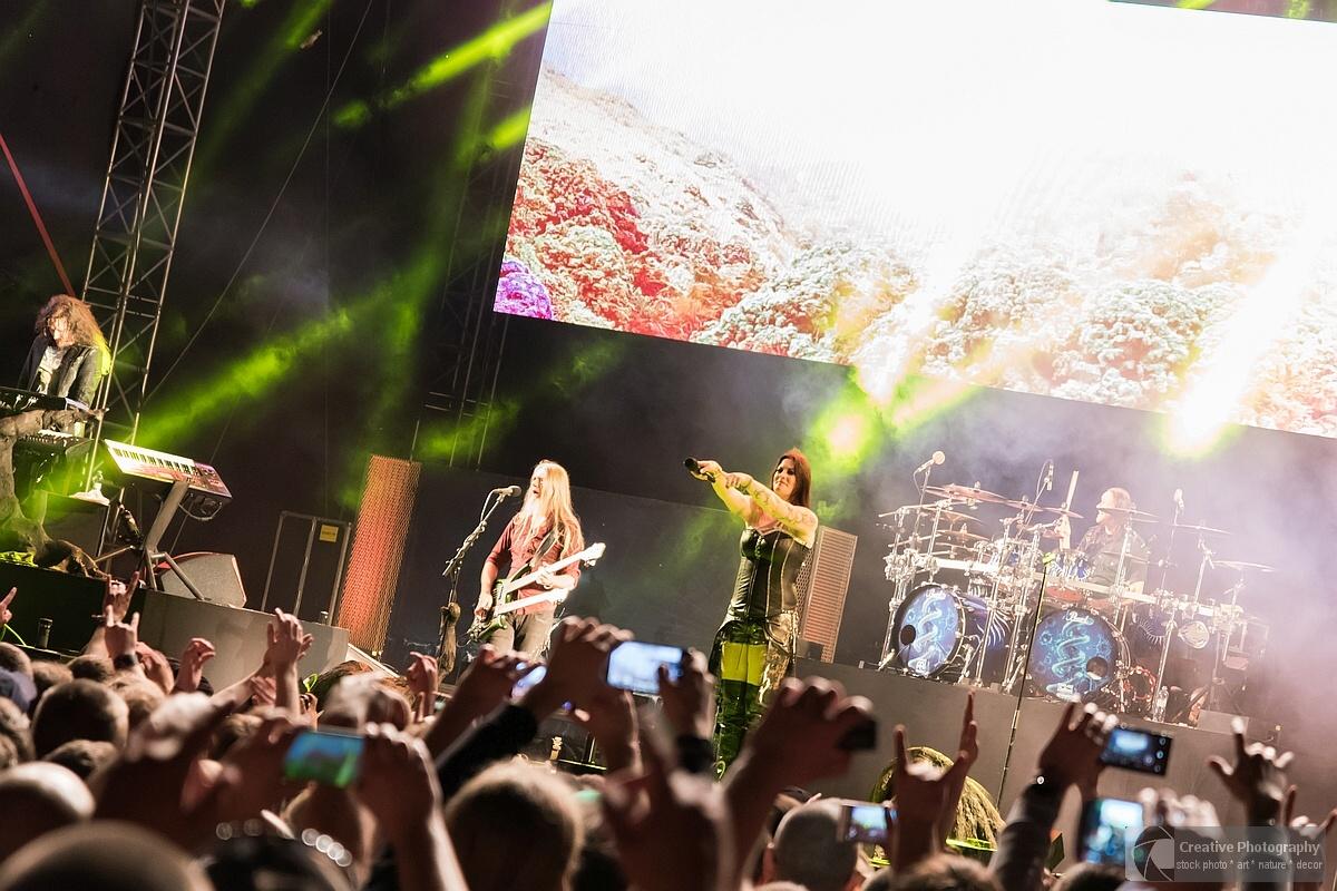 Nightwish concert in Kosice with Floor Jansen