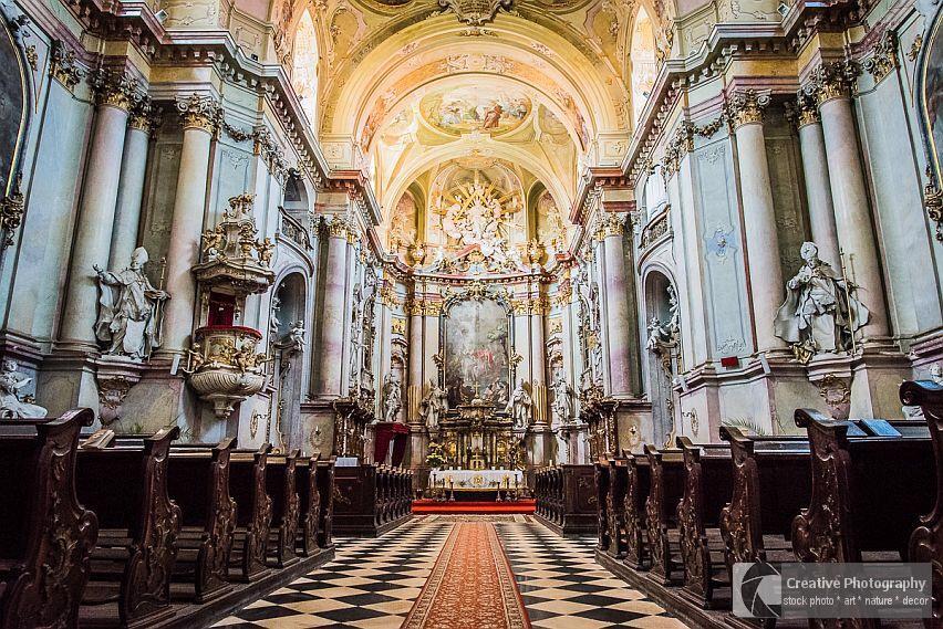 Interier of the beautiful St.John The Baptist Church
