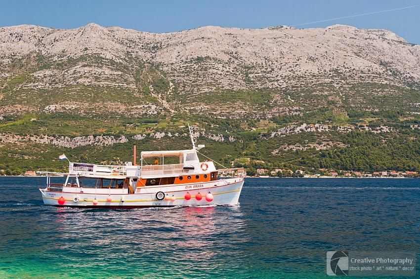 Ship 'Dva Brata' in Croatia